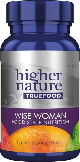 HIGHER NATURE TRUE FOOD WISE WOMAN 30CAPS