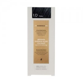 KORRES ABYSSINIA SUPERIOR GLOSS COLORANT 1.0 ΜΑΥΡΟ 50mL