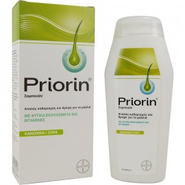 PRIORIN SHAMPOO NATURAL PLANT EXTRACTS & VITAMINS NORMAL DRY HAIR 200ml